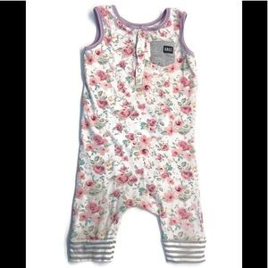 RAGS TO RACHES Floral Romper 2T